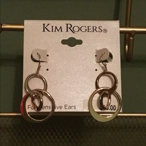 Kim Rogers Goldtone Earrings